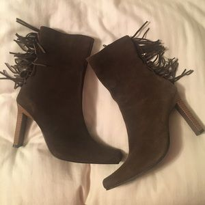 lEI Brown Suede Boots NEW W/Box